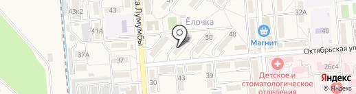 Магазин живого пива на карте Лермонтова