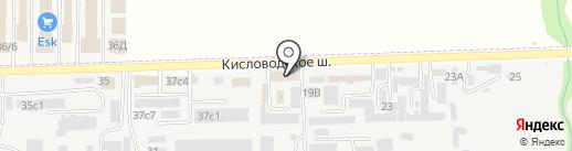 Cherbrooke на карте Пятигорска