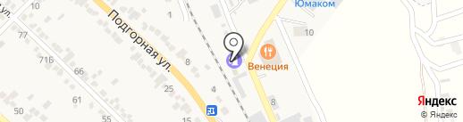 АГЗС на карте Винсад