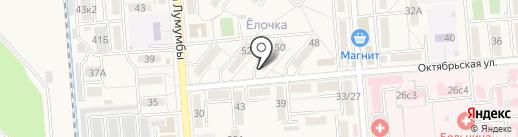 Парикмахерская на карте Лермонтова