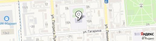 Средняя общеобразовательная школа №5 на карте Лермонтова