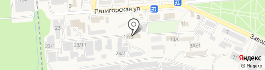 Гермес на карте Лермонтова