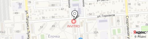 Мисс Арина на карте Лермонтова