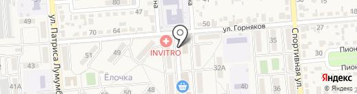 Отдел Пенсионного фонда РФ по г. Лермонтову Ставропольского края на карте Лермонтова
