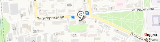 Управление ЖКХ на карте Лермонтова
