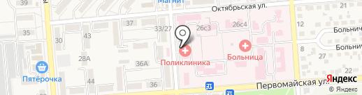 Взрослая поликлиника на карте Лермонтова