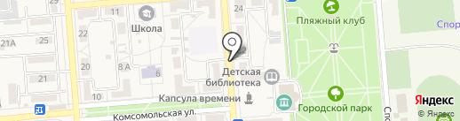 Пивмагъ на карте Лермонтова