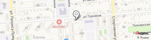 ДОСААФ России на карте Лермонтова