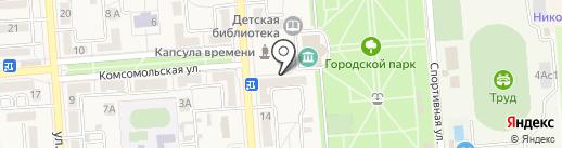 Банкомат, Сбербанк, ПАО на карте Лермонтова