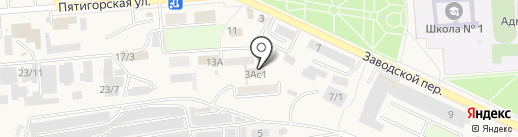 АЛМАЗ на карте Лермонтова