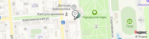 Офитек на карте Лермонтова