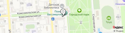Бюро недвижимости на карте Лермонтова