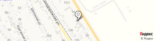 Лион на карте Винсад