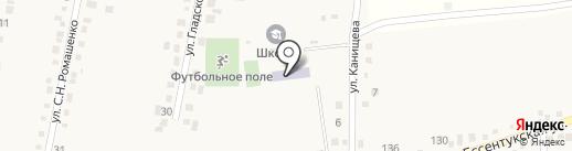 Средняя общеобразовательная школа №10 на карте Юц