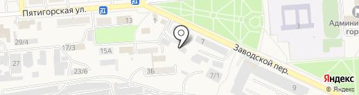 Народный стиль на карте Лермонтова