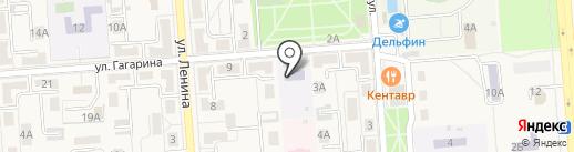 Детская художественная школа на карте Лермонтова