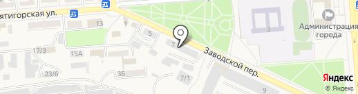 Профессиональный текстиль на карте Лермонтова
