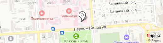 Родильный дом на карте Лермонтова