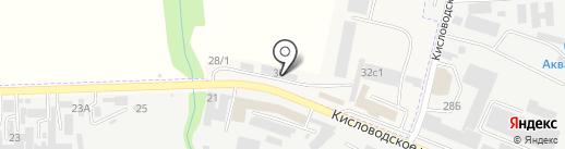 Магазин промышленного оборудования на карте Пятигорска