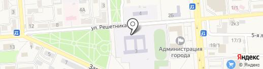 Средняя общеобразовательная школа №1 на карте Лермонтова
