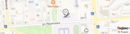 Детский сад №8 на карте Лермонтова