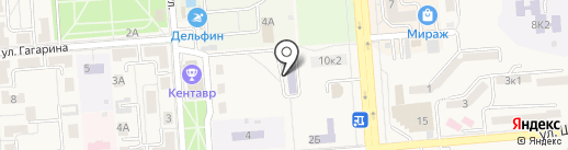 Детская музыкальная школа на карте Лермонтова
