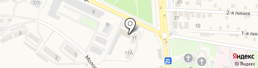 Пожарная часть №29 на карте Лермонтова