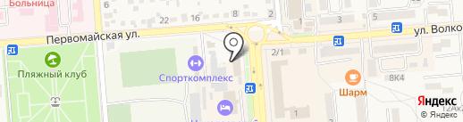 Банкомат, Почта Банк, ПАО на карте Лермонтова