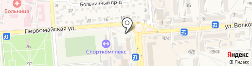 Пятигорский хлебокомбинат на карте Лермонтова