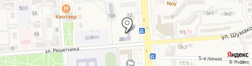Радуга на карте Лермонтова