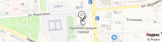 Финансовое управление на карте Лермонтова