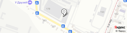 Изабелла на карте Пятигорска