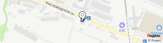 Мастер Кровли Пятигорск на карте Пятигорска