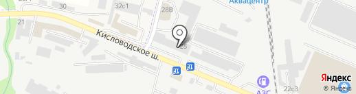 Универсал-групп на карте Пятигорска