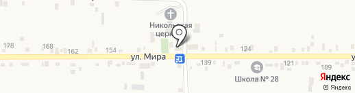 Юнибрайт на карте Садового