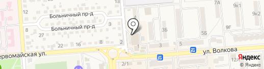 Ломбард Димакс на карте Лермонтова