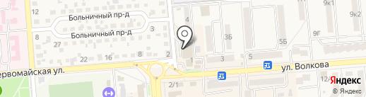 Зоомир на карте Лермонтова