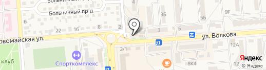 Нотариус Курдубанова Г.Е. на карте Лермонтова