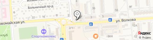 Росгосстрах, ПАО на карте Лермонтова