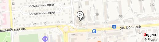 Магазин пряжи на карте Лермонтова