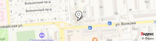 Книжный магазин на карте Лермонтова