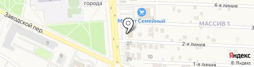 Магазин строительных материалов на карте Лермонтова