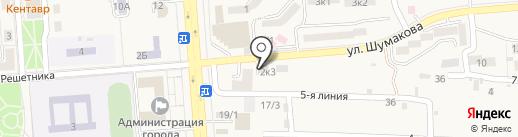 Торговый центр на карте Лермонтова