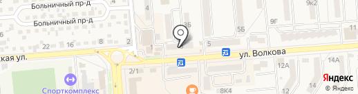 Магазин хозтоваров на карте Лермонтова