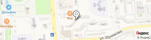 Бизнес-клуб на карте Лермонтова