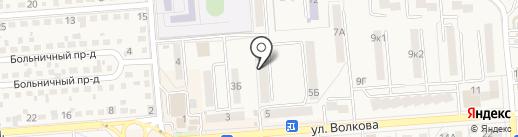 АСК на карте Лермонтова
