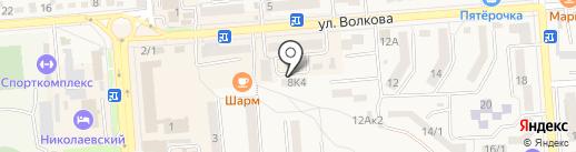 ОСТРО-ДЕНТ на карте Лермонтова