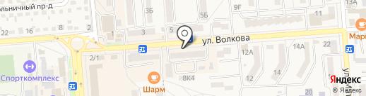 Магазин оптики на карте Лермонтова