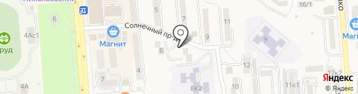 Валентина на карте Лермонтова