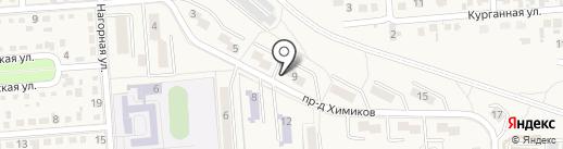 Силуэт на карте Лермонтова